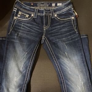 NWT Miss Me Size 26 Boot Cut Jeans